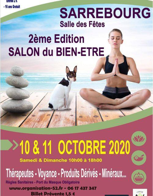 2è édition salon bu Bien-être de Sarrebourg