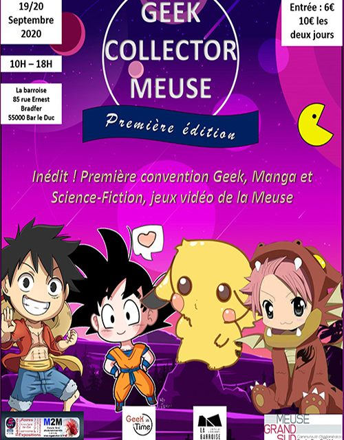 geek collector convention bar le duc meuse