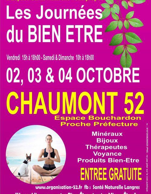 journées du bien-être à Chaumont