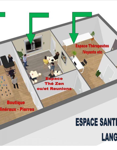 location de salles de réunion pour thérapeute, zen, réunions ou autres occasions.