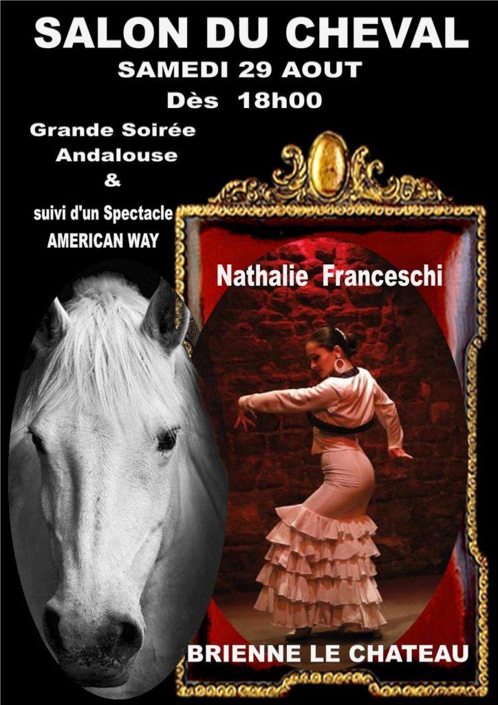 salon du cheval soirée andalouse